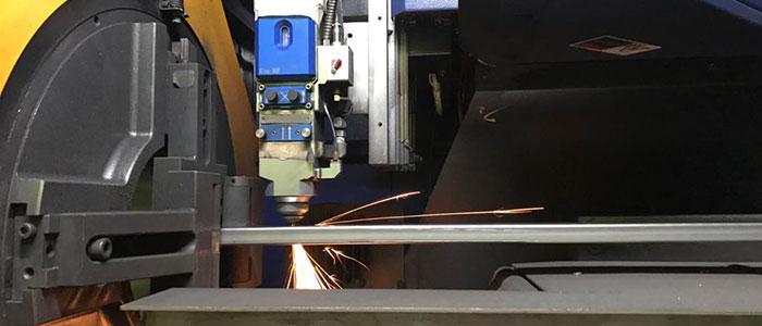 Tubos de Aço Cortados a Laser